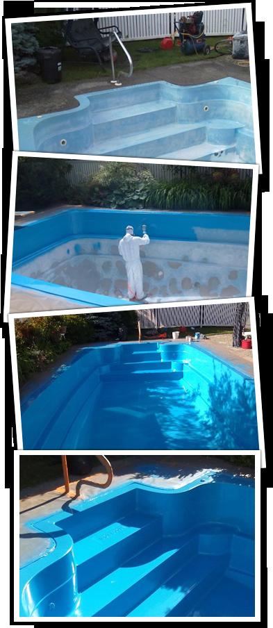 R paration de piscines en fibre de verre for Piscine en fibre de verre